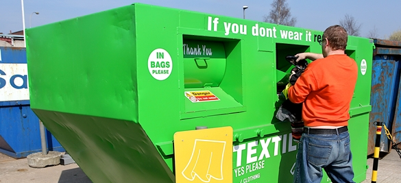 Textiles recycling - MRWA - Merseyside Recycling and Waste Authority
