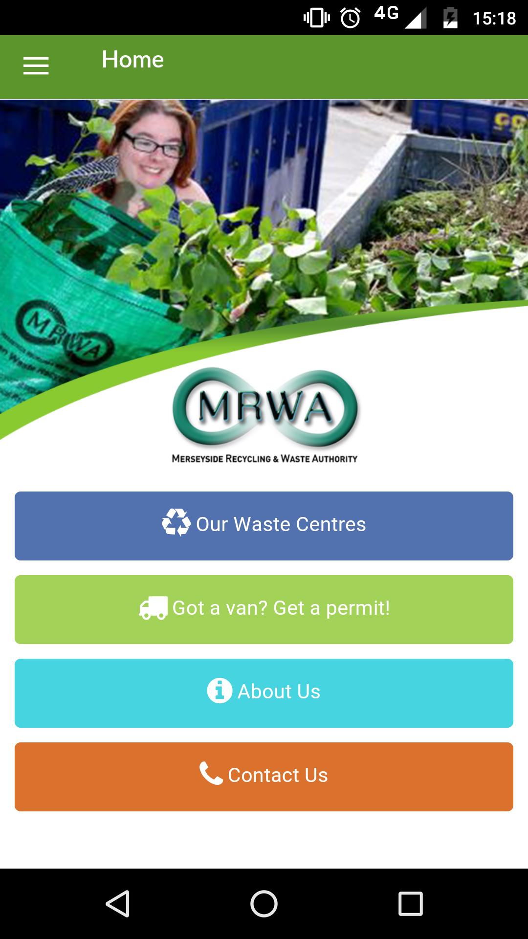 Merseyside Recycling App