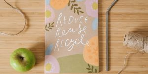 Photo of recycling poster